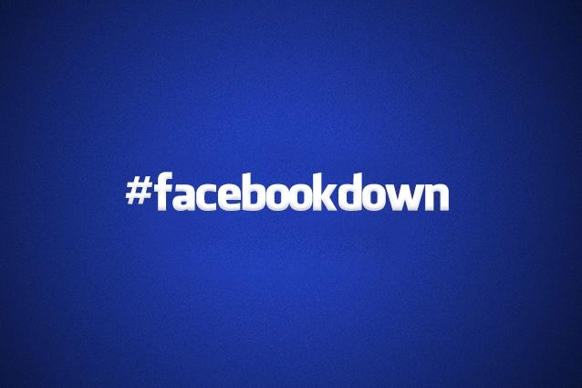 Facebook down, il social network non va