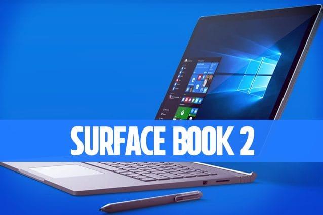 Microsoft Surface Book 2 Notebook Convertibile da 13.5